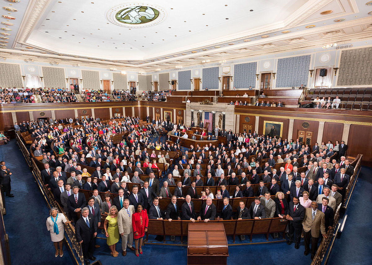 114th United States Congress (Photo from Wikipedia)