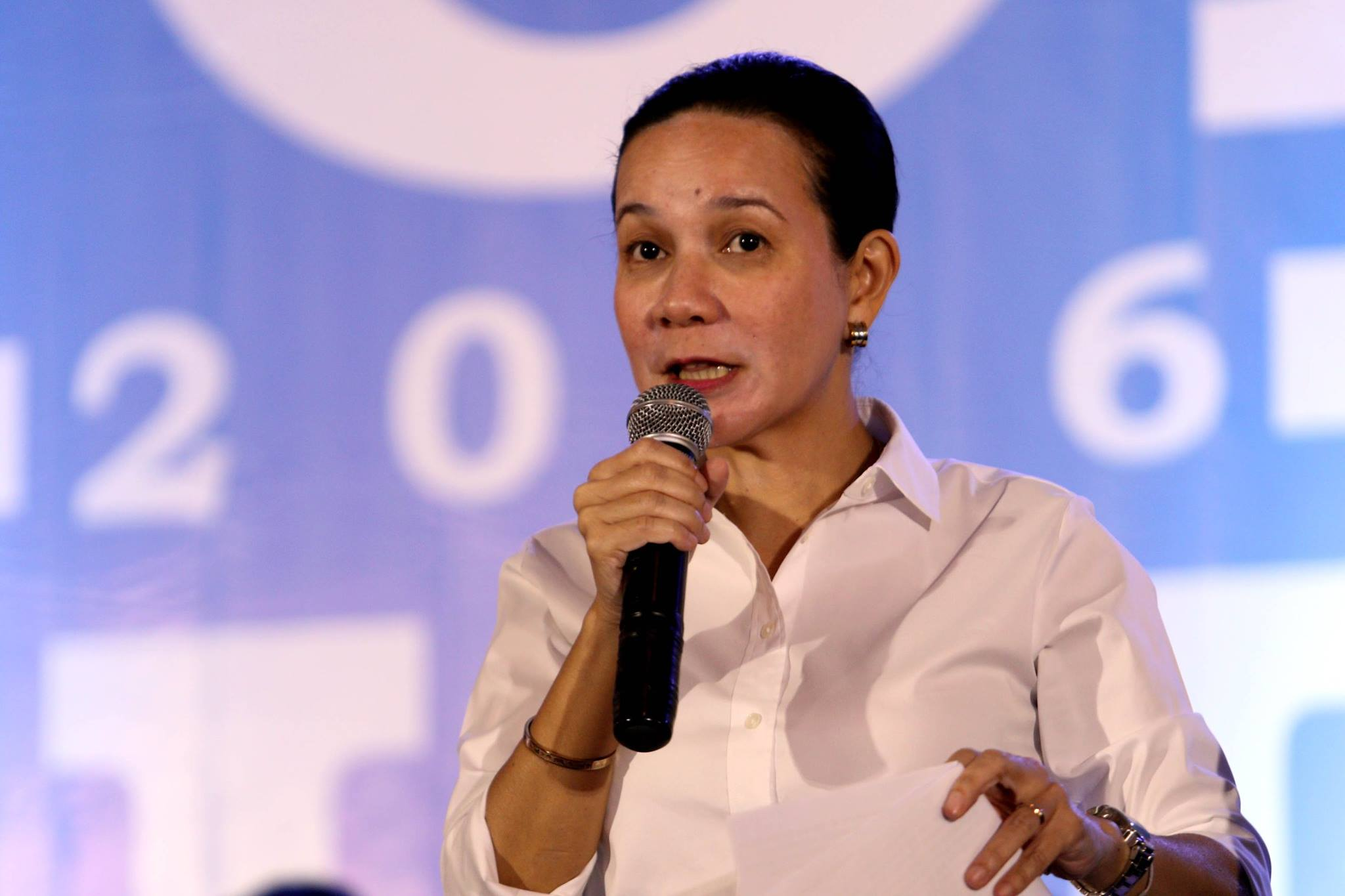 Presidential aspirant Sen. Grace Poe (Photo from Poe's official Facebook page)