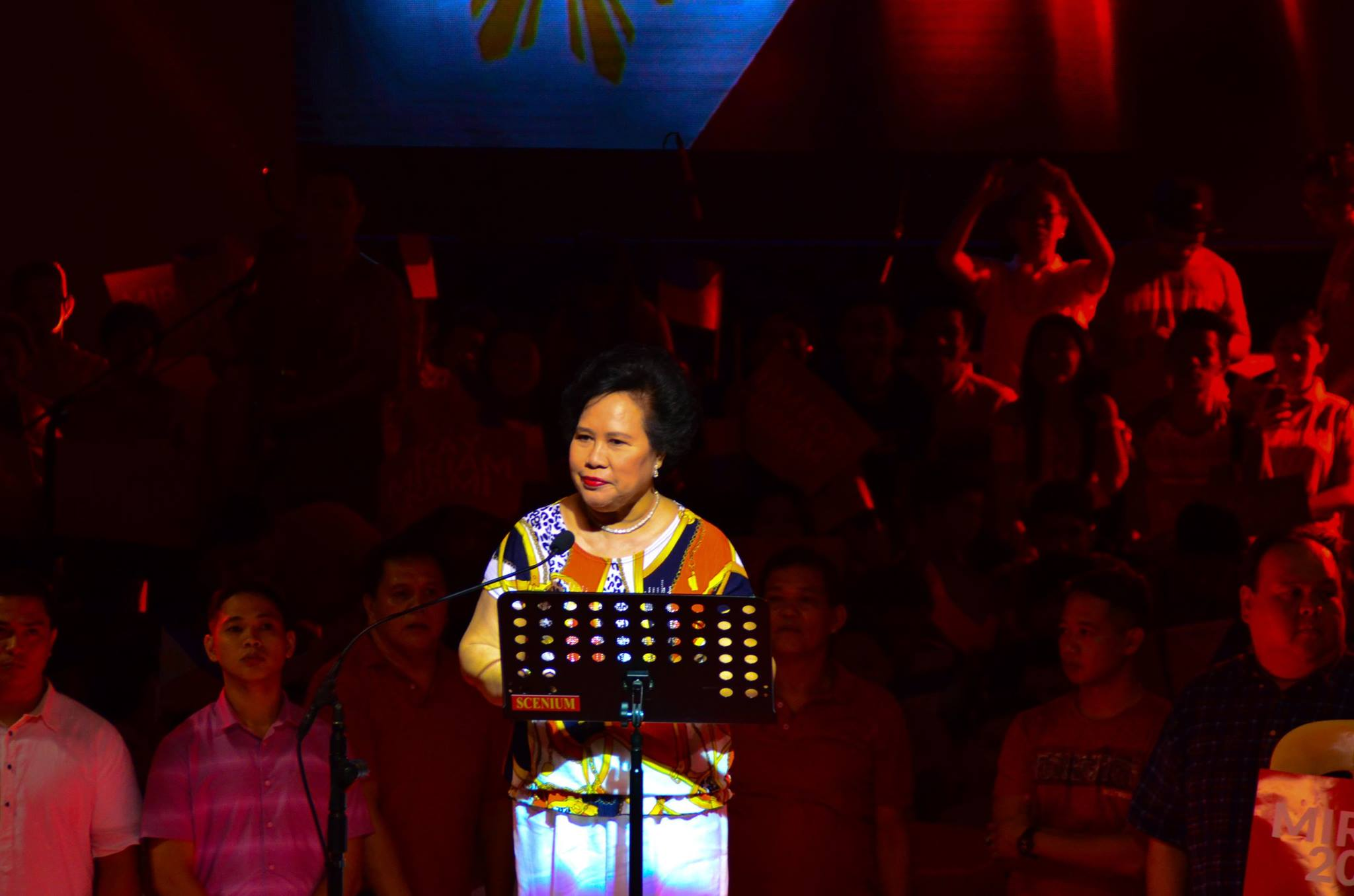 Sen. Miriam Defensor Santiago (Photo from Sen. Miriam Defensor Santiago's Official Facebook Page)