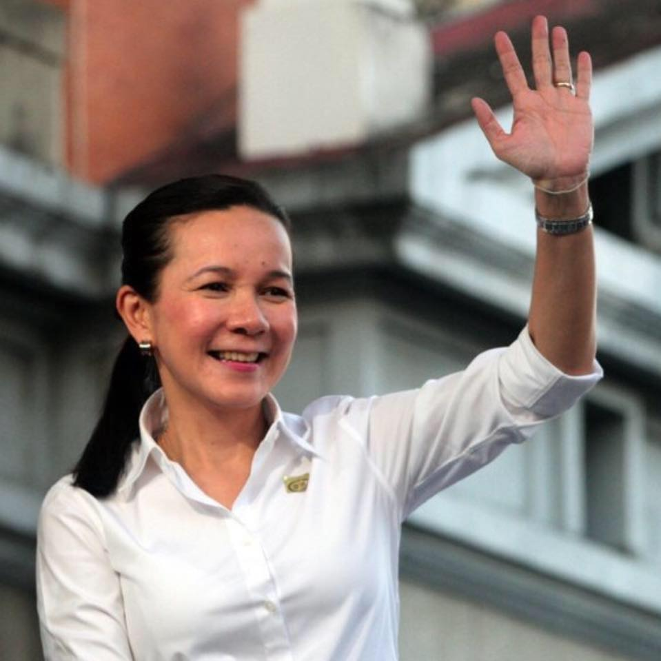Presidential aspirant Grace Poe (Photo from Poe's official Facebook page)