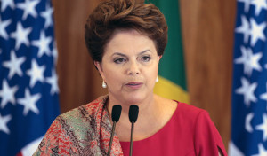 Brazilian President Dilm Rousseff (Internet photo)