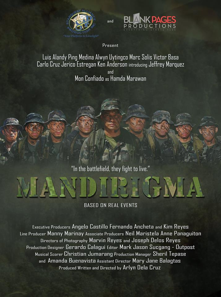 """Mandirigma"" (Warrior)  movie poster"