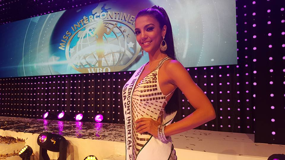 Philippines' Christi Lynn Mc Garry (Photo from Miss Intercontinental's Facebook page)