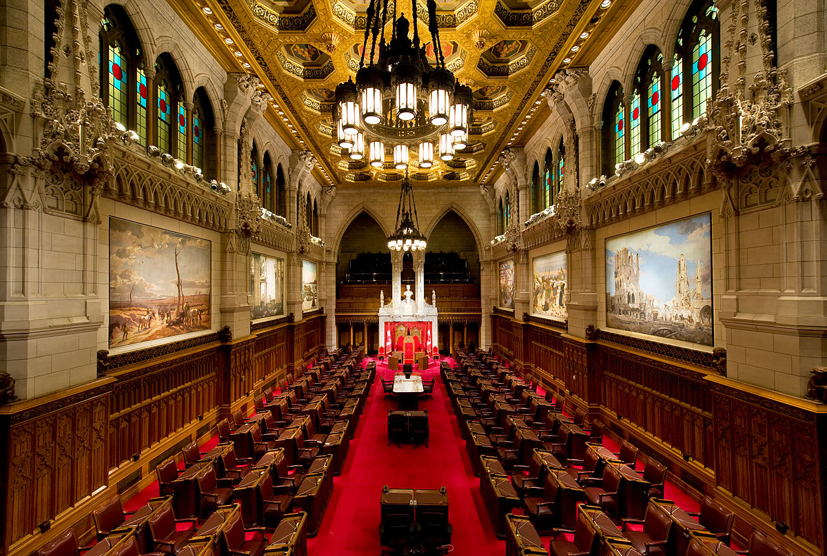 Senate of Canada (Photo from Wikipedia)