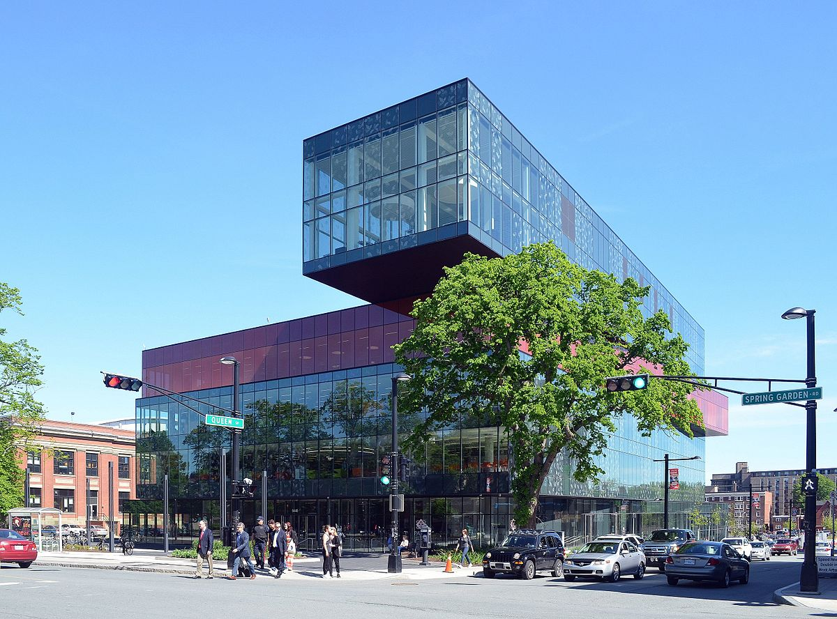 Halifax Central Library (Photo from Wikipedia)