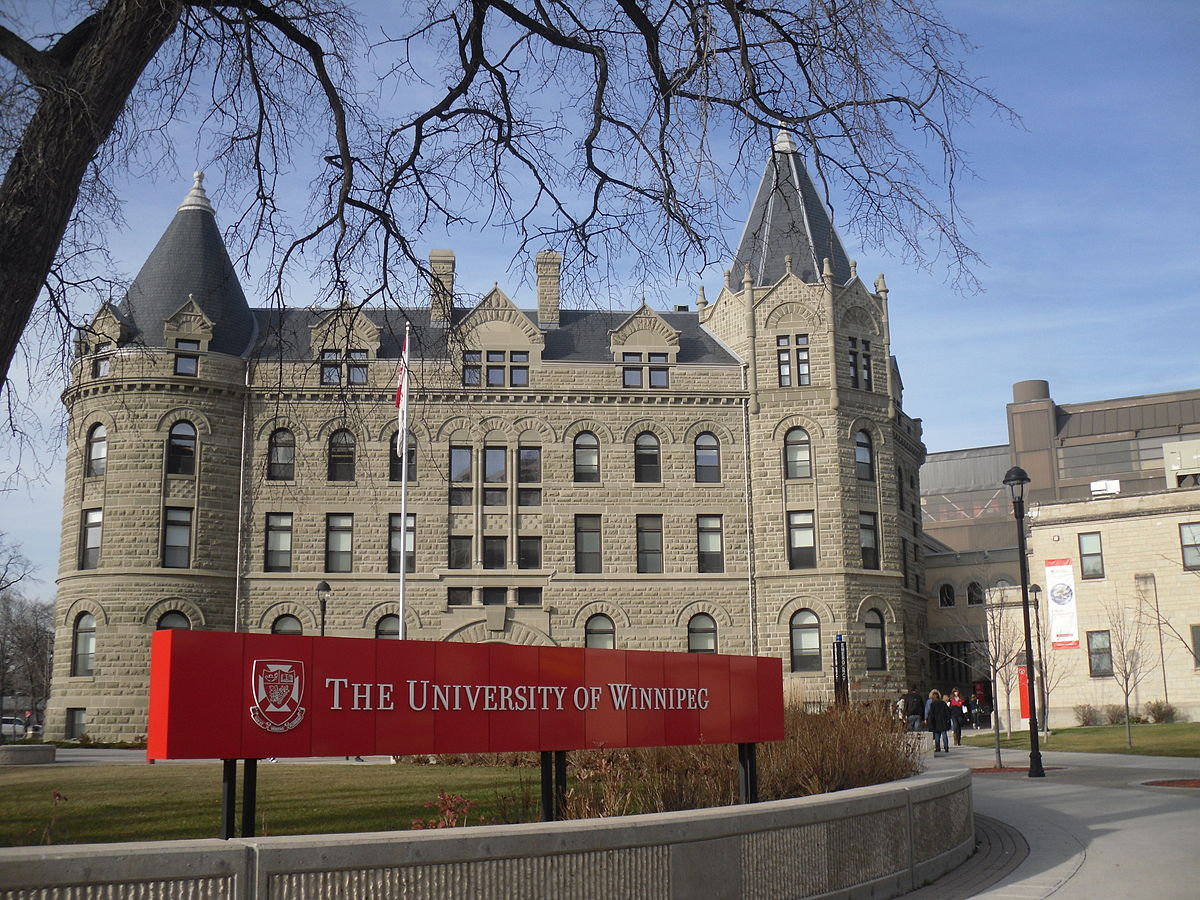 The University of Winnipeg, the first university in Canada to require all students to take an indigenous course in order to graduate.  (Photo from Wikipedia)