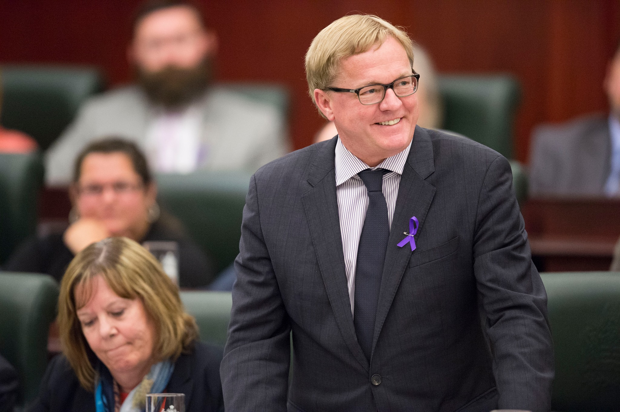 Tourism Minister David Eggen (Facebook photo)