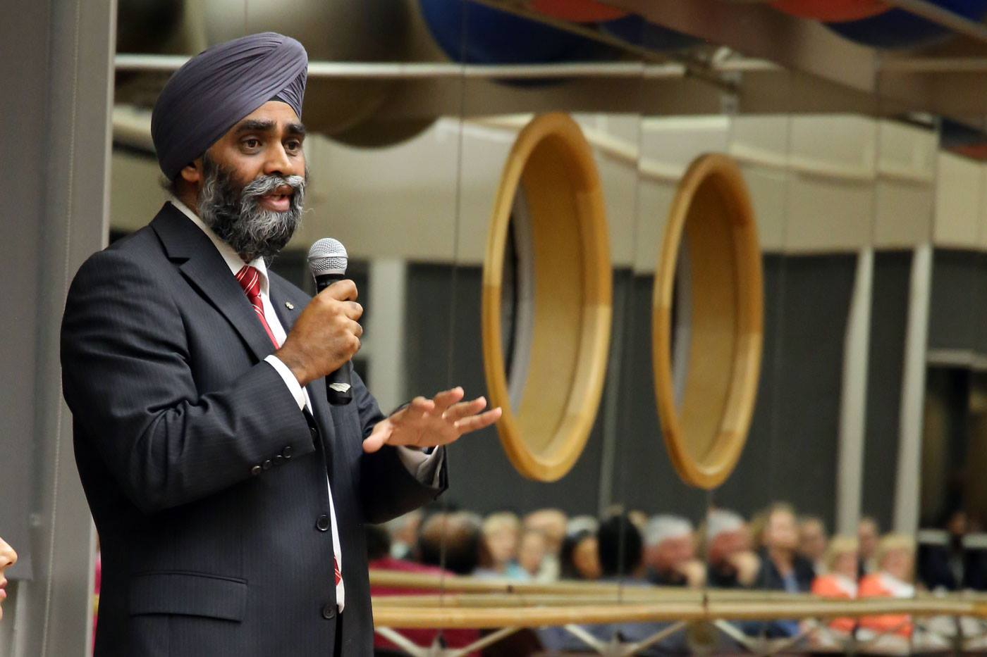 Harjit Sajjan, Canada's defence minister (Photo from Sajjan's official Facebook page)