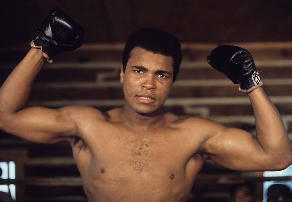 Muhammad Ali (Photo taken from Muhammad Ali's official Facebook fan page)