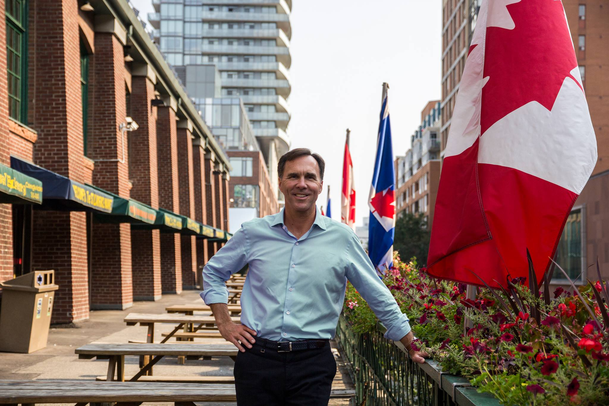 Finance Minister Bill Morneau conceded Monday that new tax adjustments will have an annual net drain on the federal treasury starting in 2016-17 (Photo taken from Bill Morneau's officlal Facebook fan page)