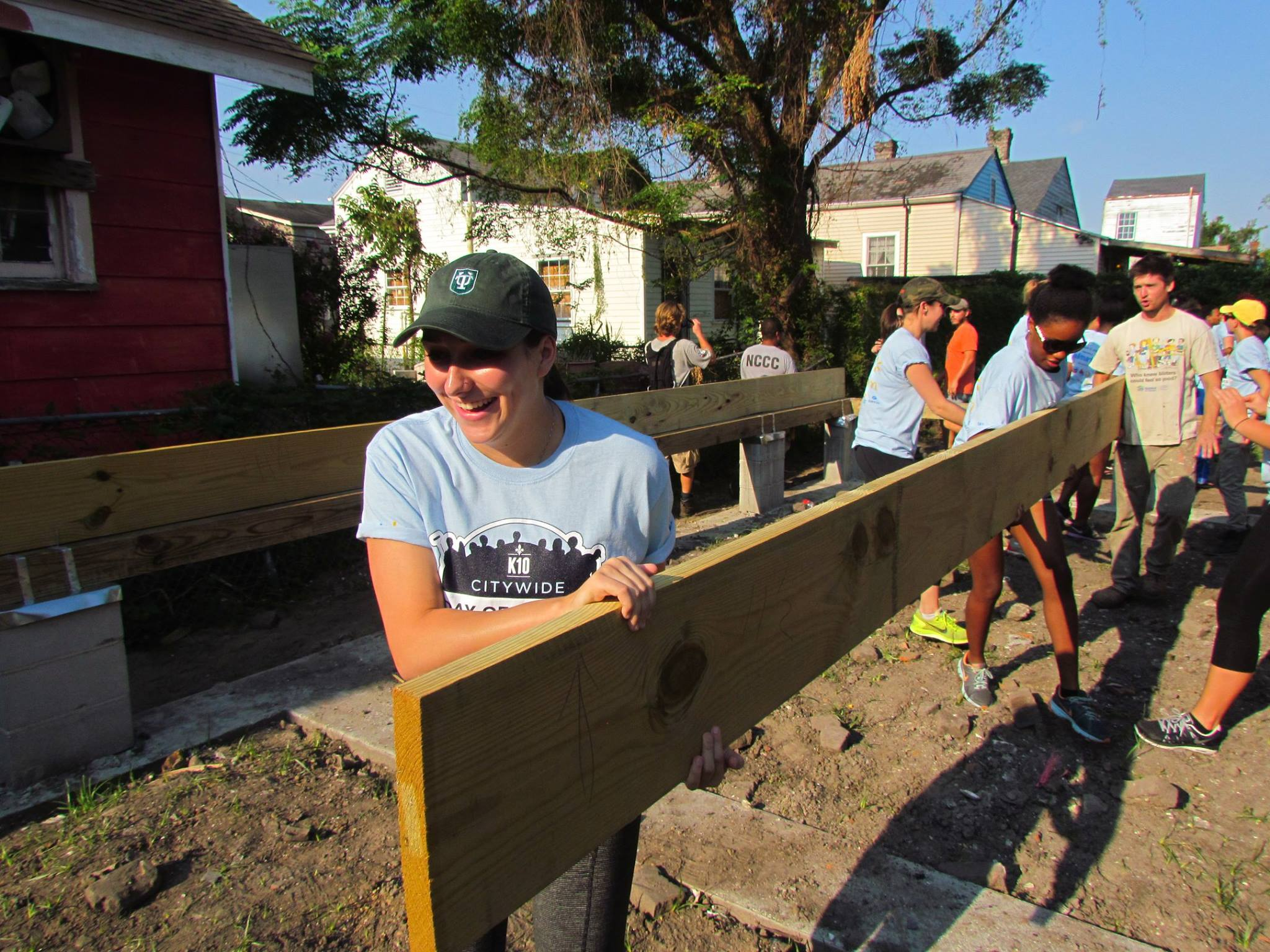 Habitat for Humanity volunteers in New Orleans (Facebook photo)