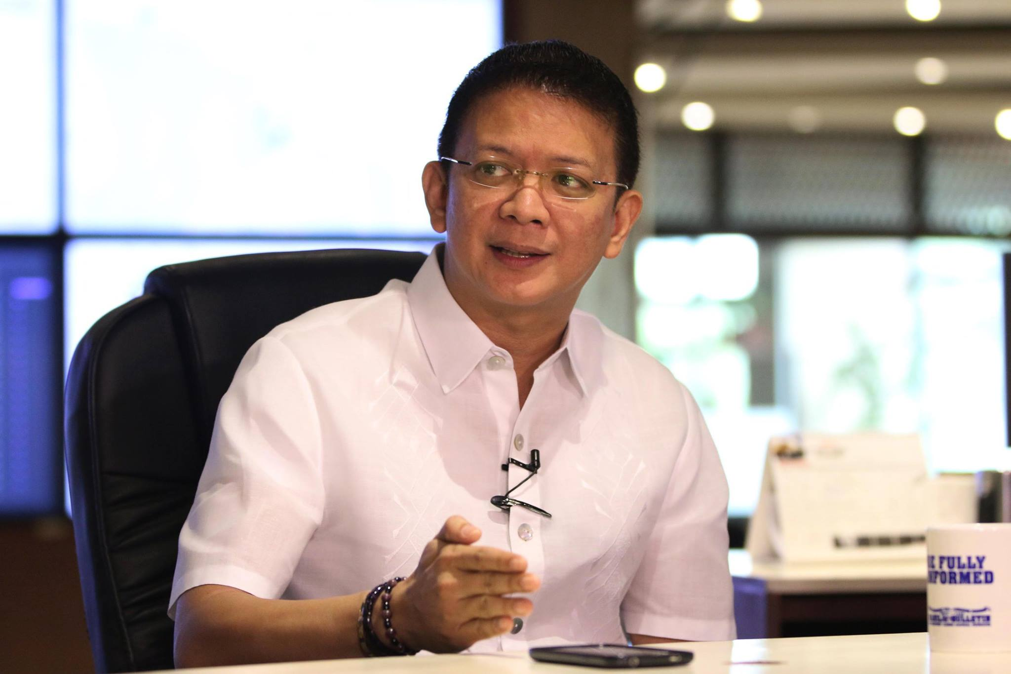 "Sen. Francis ""Chiz"" Escudero (Facebook photo)"