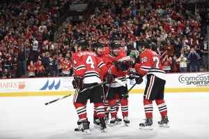 Chicago Blackhawks defeats Winnipeg Jets, making Patrick Kane as Chicago's top scorer broke a franchise record held by one of the greatest players in team history (Photo taken from Chicago Blackhawks' official Facebook fan page)