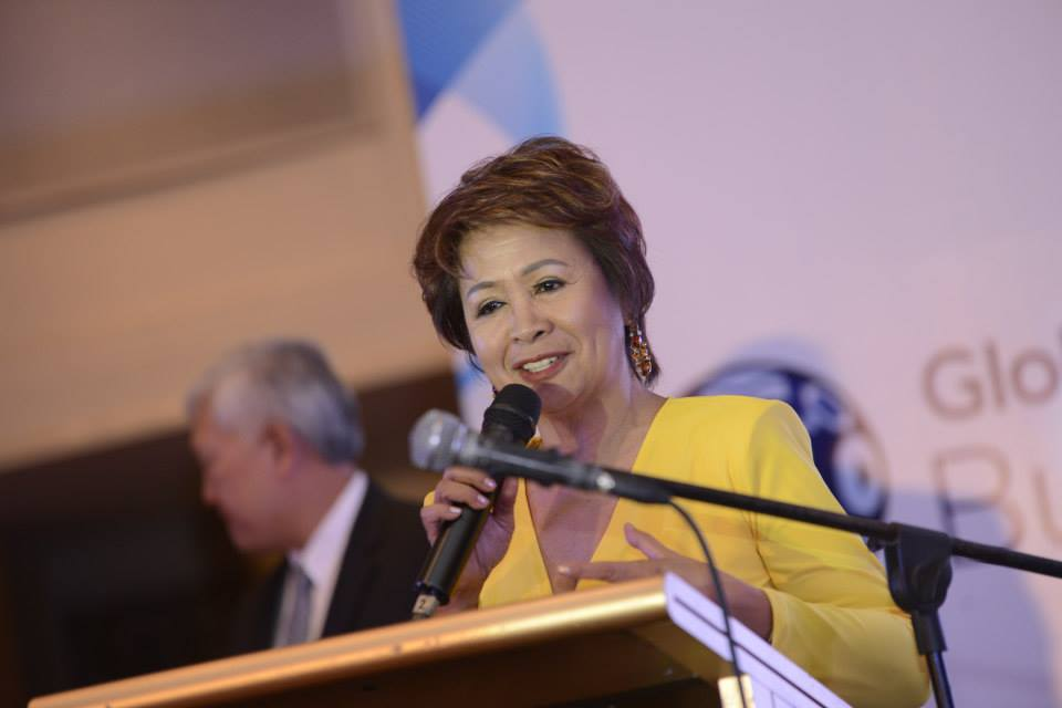 Cora Dela Cruz  (Photo from the Canadian Chamber of Commerce of the Philippines' official Facebook page)