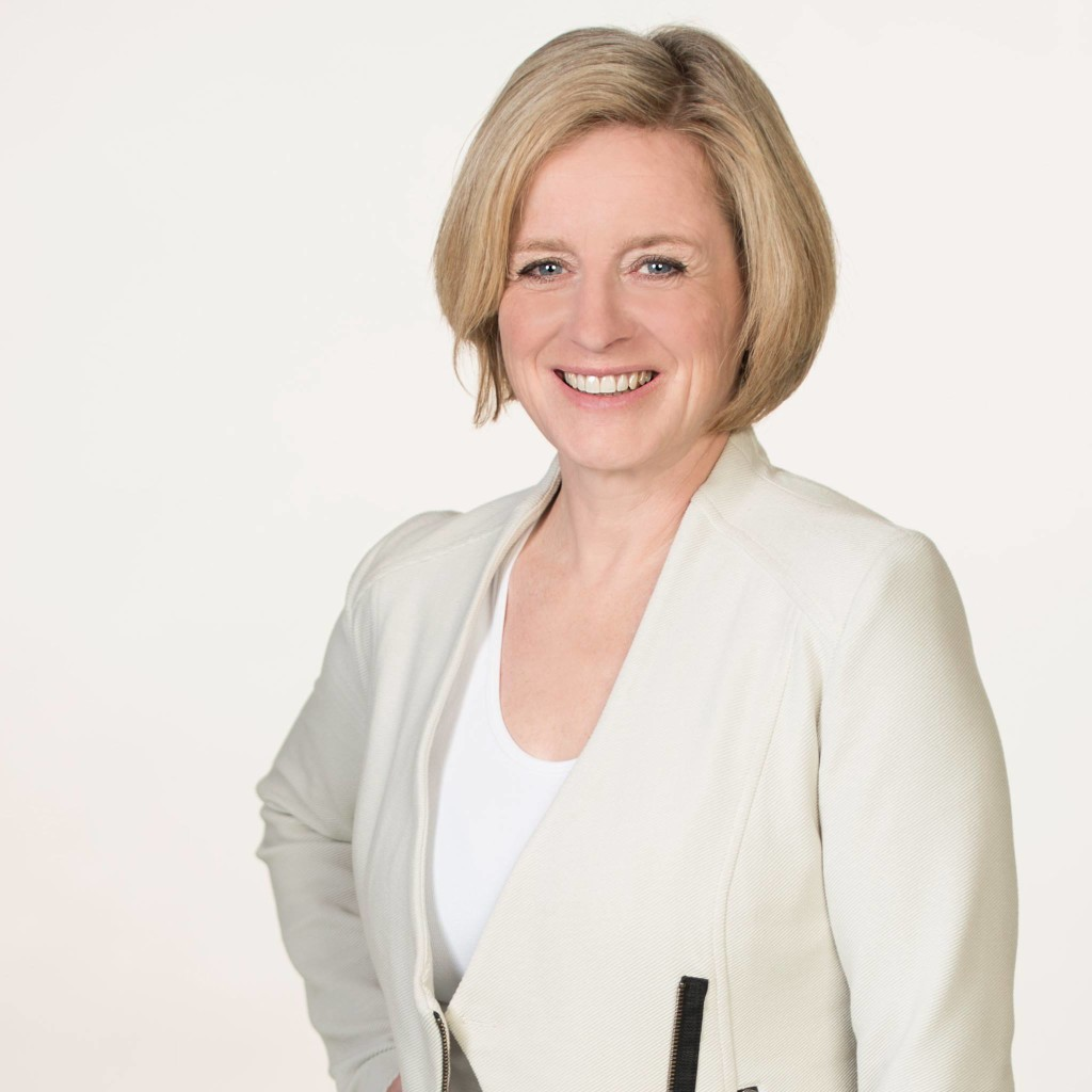 Premier Rachel Notley (Photo from Notley's official Facebook account)