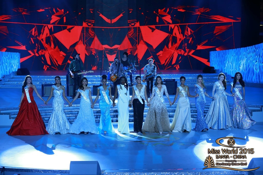 Top 10, Miss World 2015 (Photo from © Miss World's official website)