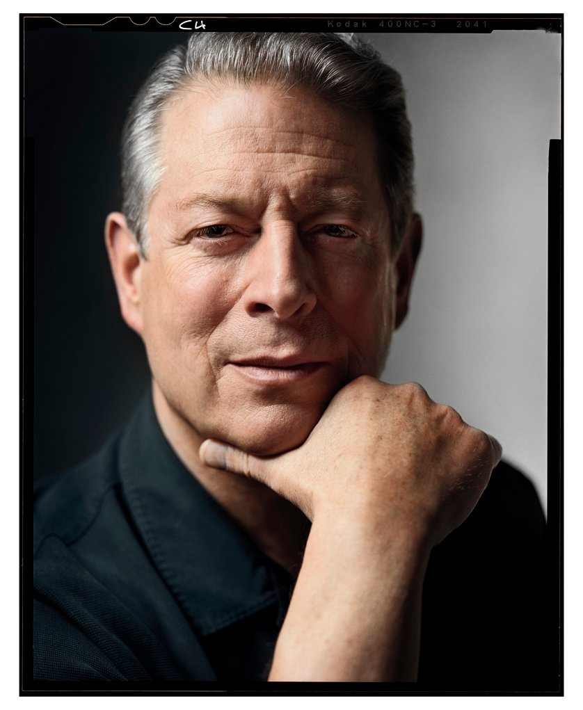 Former U.S. President and climate change advocate, Al Gore (Photo from Al Gore's official Facebook page)