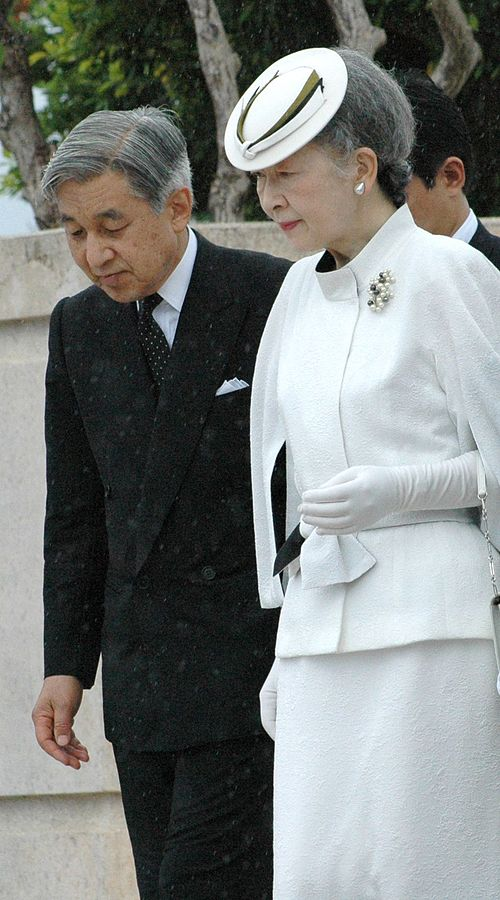 The Emperor and Empress of Japan (Photo from Wikipedia)