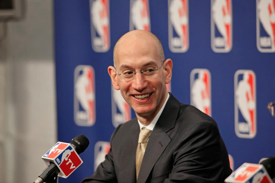 NBA Commissioner Adam Silver (Photo taken from Adam Silver's official Facebook account)