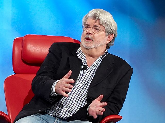 American Filmmaker, George Lucas (Photo from Wikipedia)
