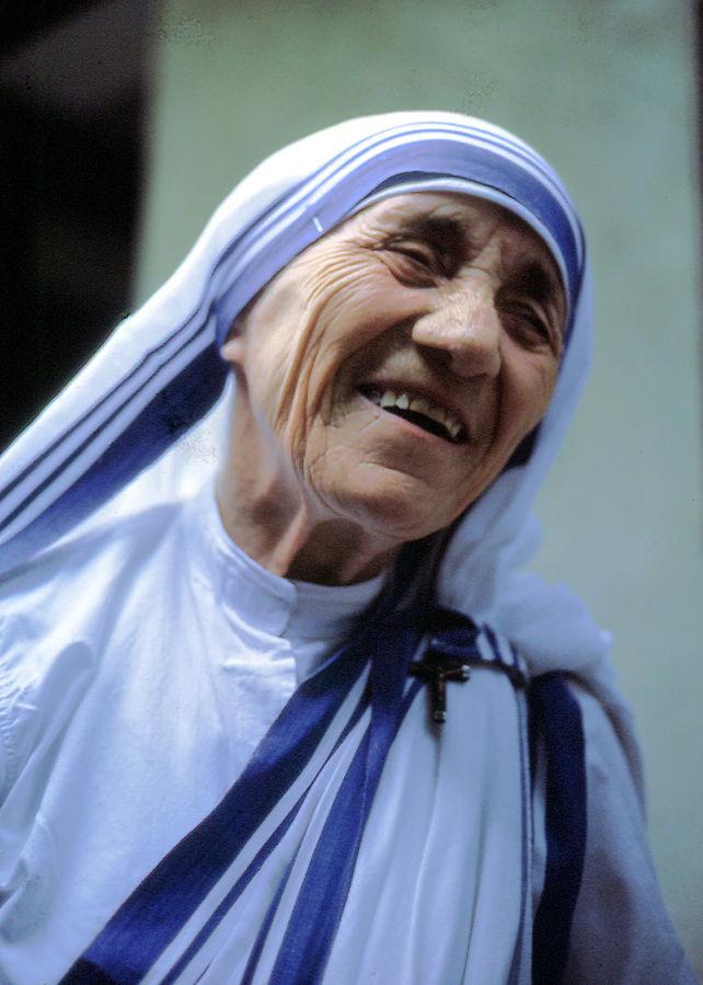 Mother Theresa. (Photo by Manfredo Ferrari - Own work, CC BY-SA 4.0.)