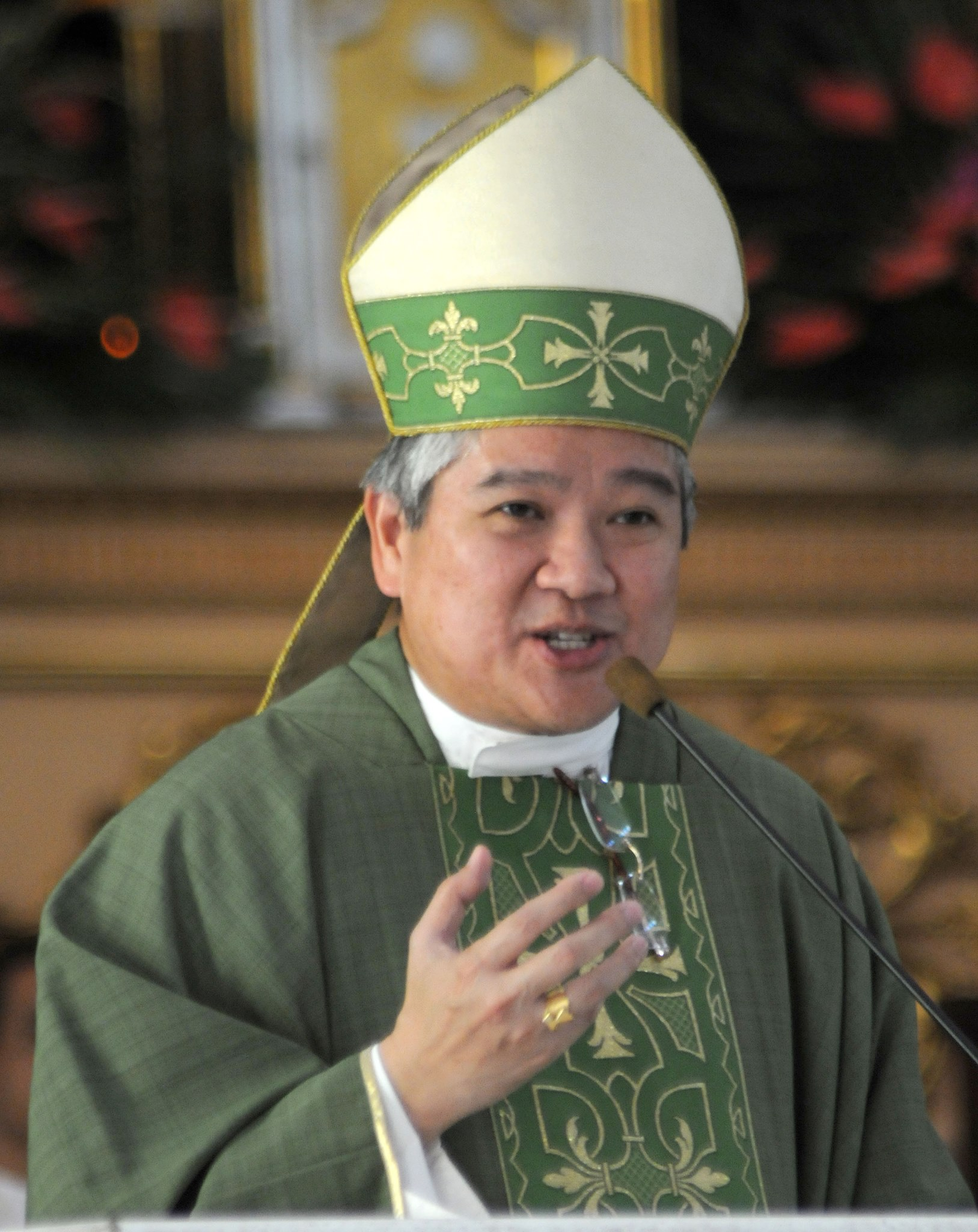Archbishop Socrates Villegas, president of the Catholic Bishop Conference of the Philippines. (Photo from Facebook)
