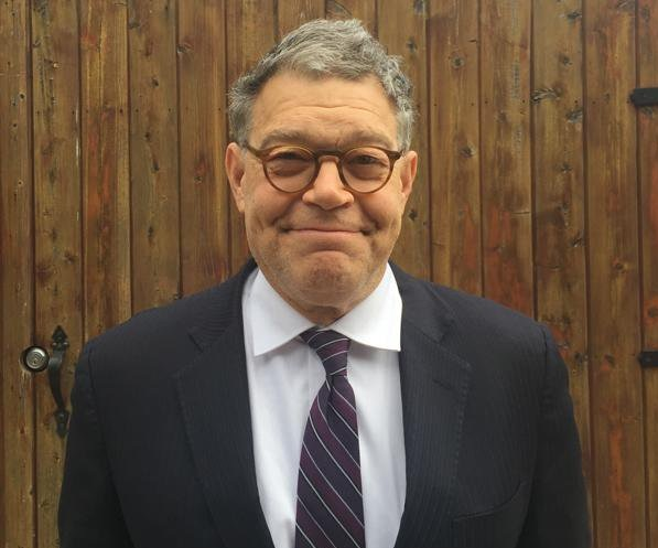 Al Franken (Photo from Al Franken's official Twitter account)
