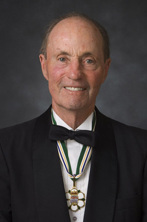 William Richards Bennett, former Premier of British Columbia (Photo from Order of British Columbia website)