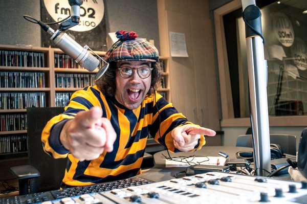 Nardwuar the Human Serviette (Photo from Nardwuar's official Twitter account)
