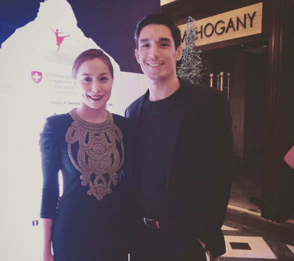Christine Reyes and fiance Ali Khatibi (Photo from Christine's Instagram account)