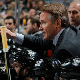 Pittsburgh Penguins former head coach Mike Johnston (Photo from Johnston's official Twitter account)