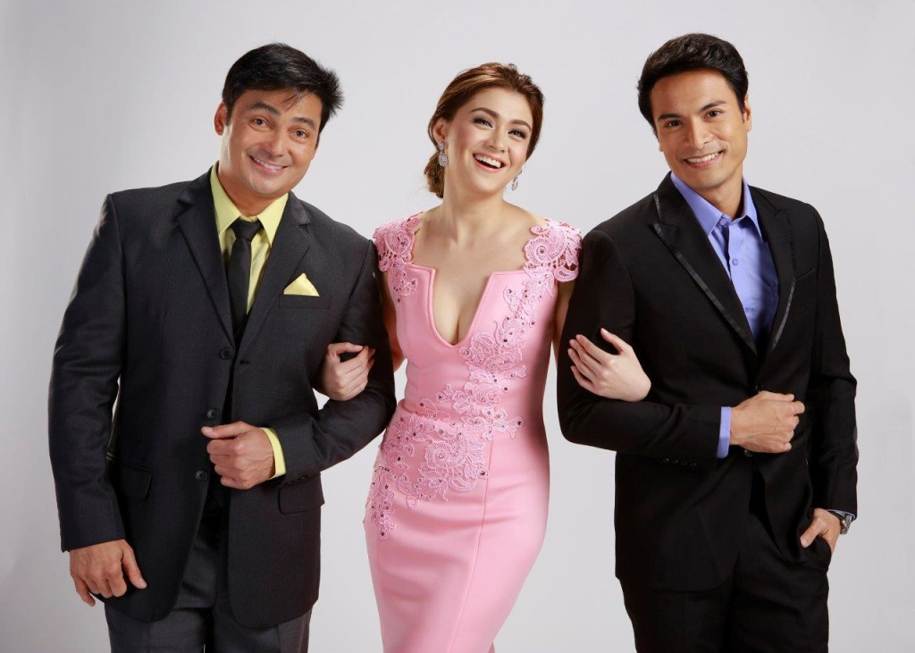 Because of You is headlined by Carla Abellana as Andrea, Rafael Rosell as Oliver and Gabby Concepcion as Jaime. (Contributed photo)