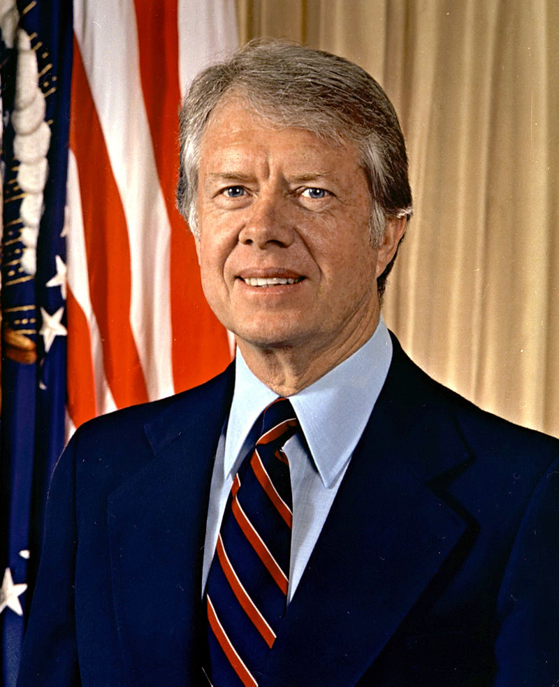 39th President of the United States Jimmy Carter (Photo U.S. National Archives and Records Administration, Public Domain)