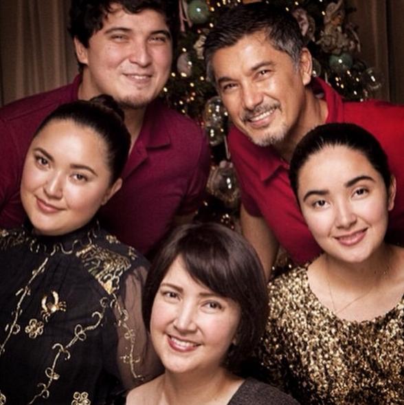 Martinez family (Photo from Albert's Instagram account)