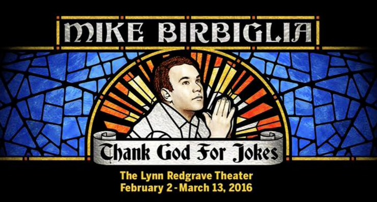 (Photo from Mike Birbiglia's official Twitter account)