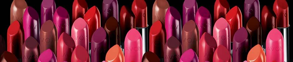 Avon lipsticks (Photo from Avon's website)