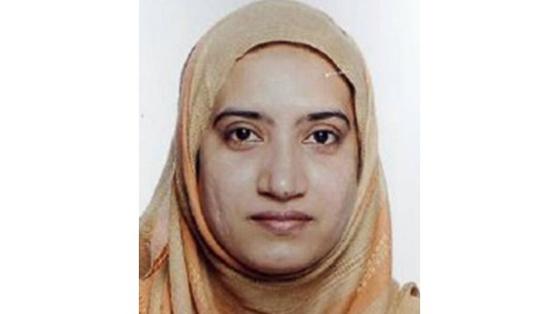 One of the persons who carried out the mass shooting in San Bernardino, California, Tashfeen Malik, attended a madrassa school in Ontario (Internet photo)