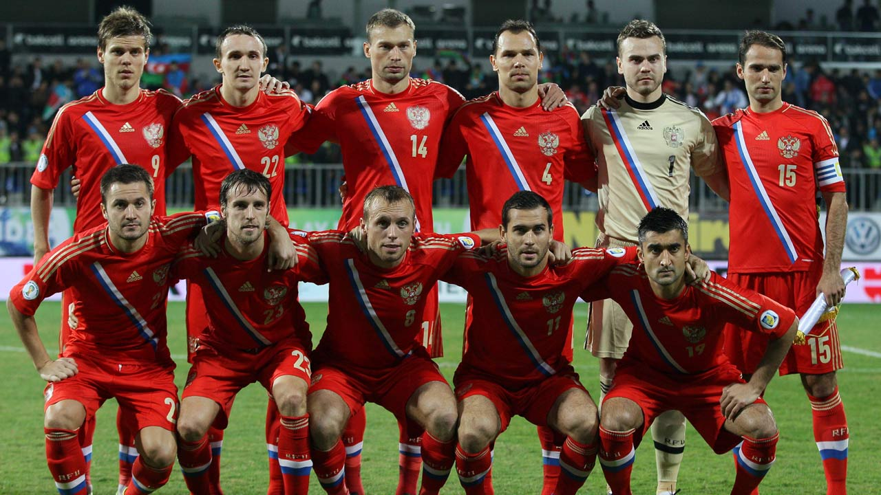 Russian World Cup squad (Photo from Footballtube.com)