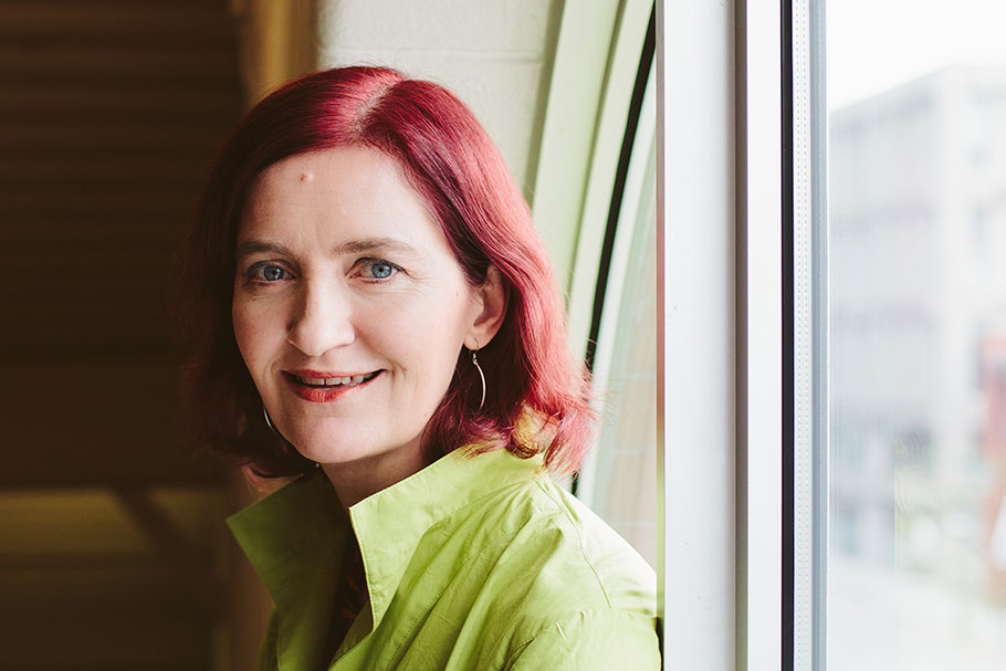Irish-Canadian novelist, Emma Donoghue (Photo from Punch Photograph/ Donoghue's website)