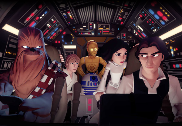Star Wars: The Force Awakens in Disney Infinity 3.0 (Internet photo)