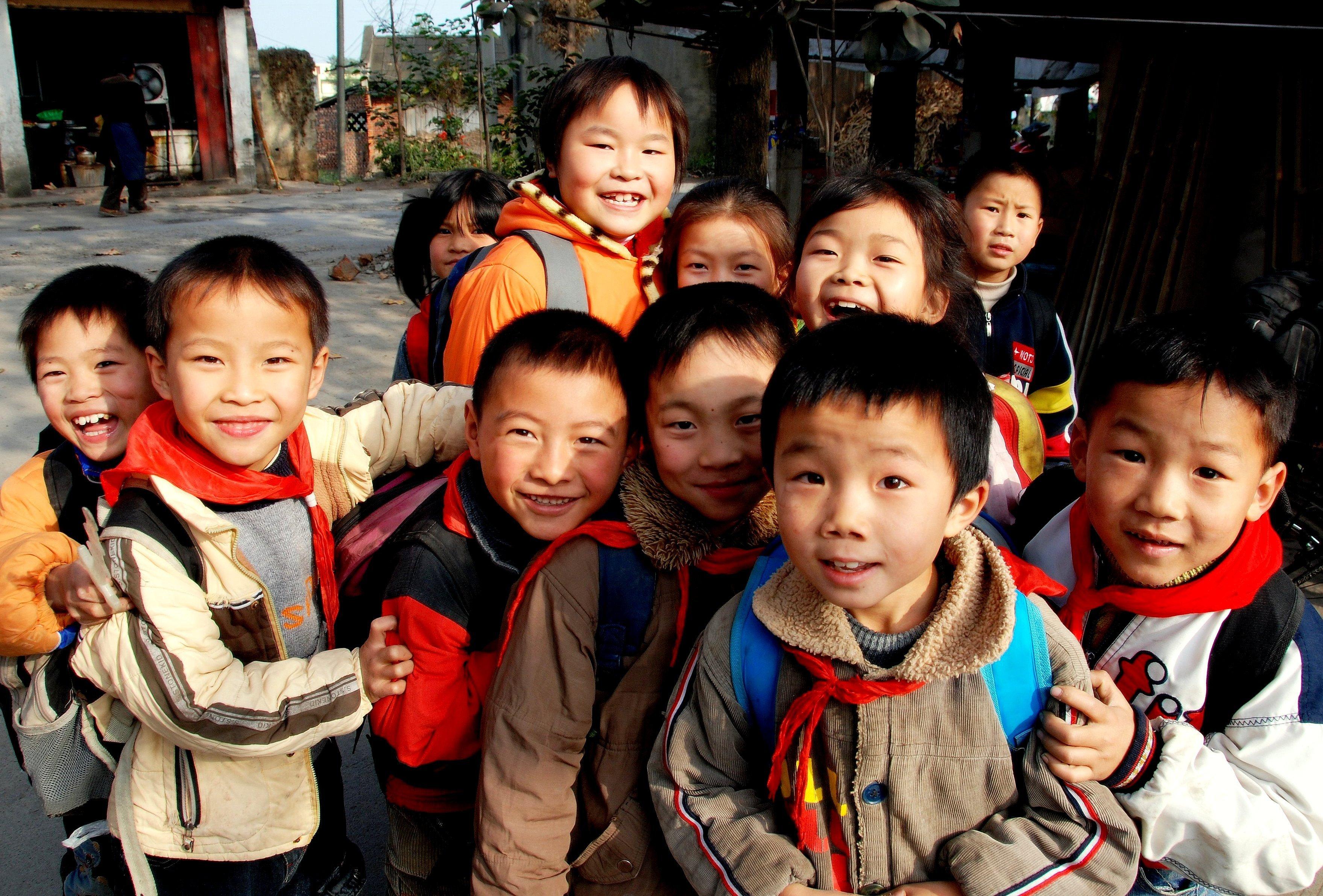 Chinese children (Shutterstock photo)