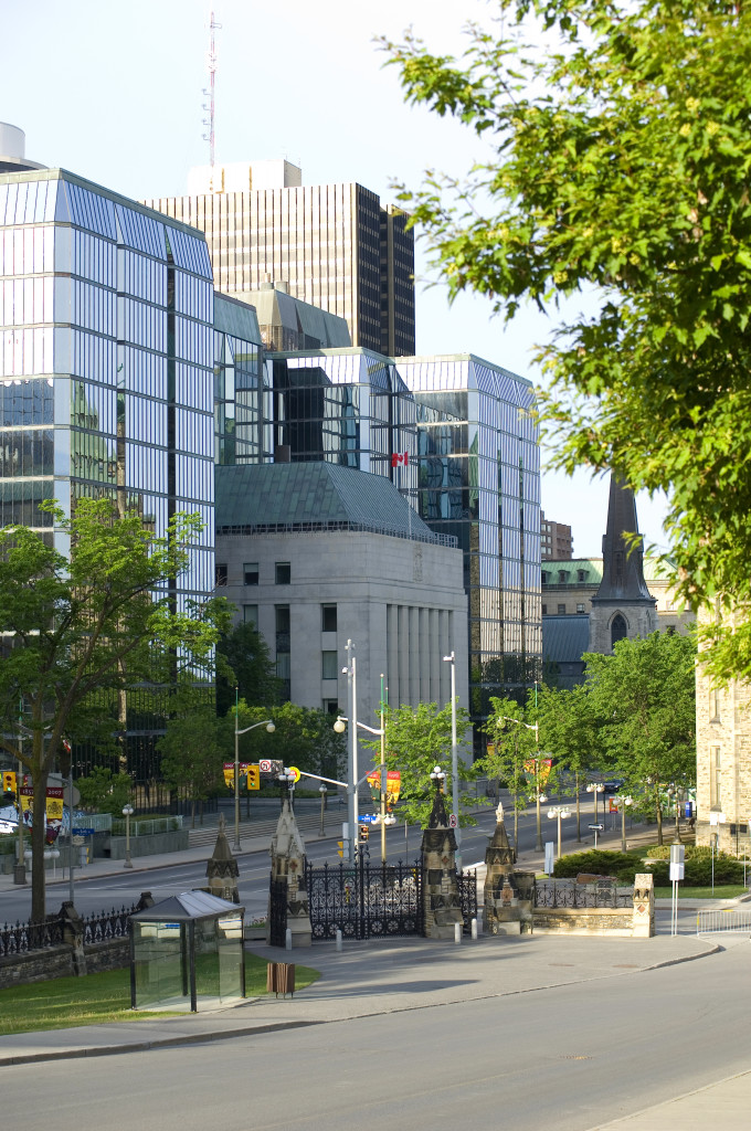 The Bank of Canada headquarters at 234 Wellington Street, across from Parliament Hill.  (Photo from the Bank of Canada)