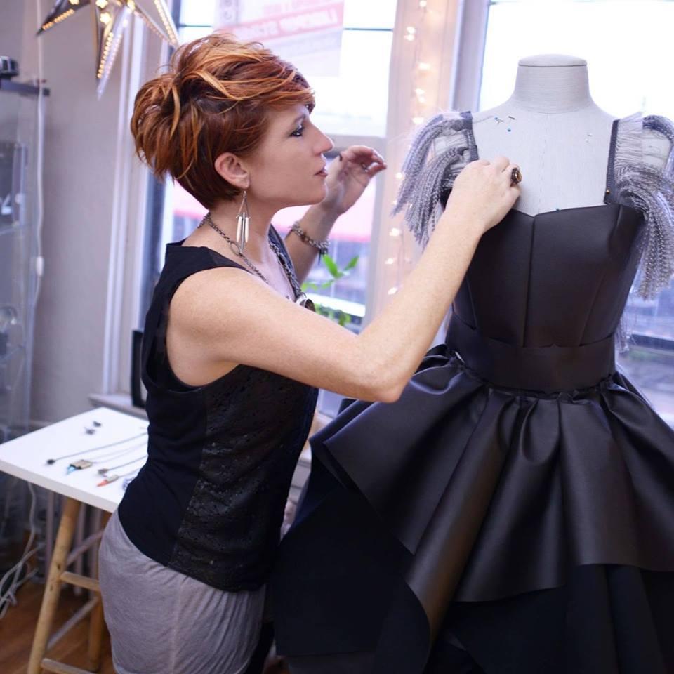 Ferndale-based designer Janna Coumoundouros (Photo from Coumoundouros' Facebook account)