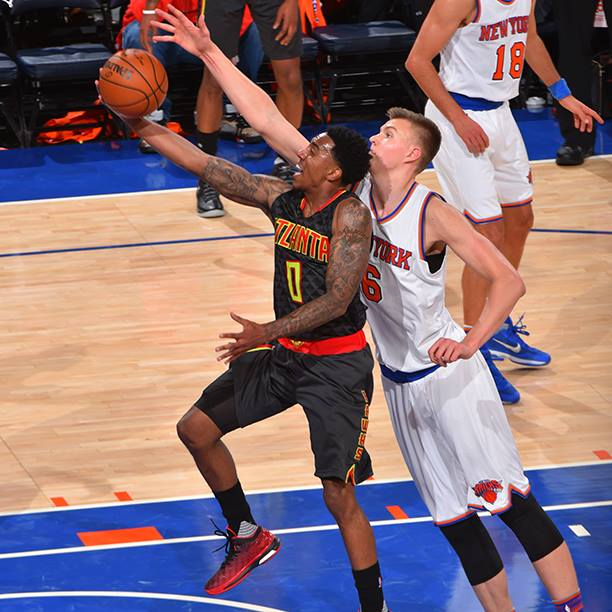 Afflalo made his first seven 3-point attempts and scored a season-high 38 points to lead the New York Knicks to a 111-97 victory over the Atlanta Hawks on Sunday. Afflalo was 14 for 17 from the field and finished 7 for 8 from behind the arc in nearing his career best of 43 points (Photo taken from Atlanta Hawks' official Facebook fan page)