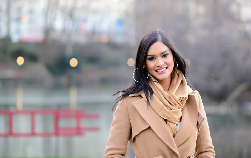 Miss Universe 2015 Pia Alonzo Wurtzbach (Photo taken from Pia Wurtzbach's official Facebook fan page)