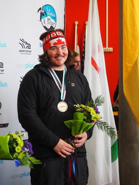 "Canada's lone medalist at the Winter X Games Alex ""Bubz"" Massie (Facebook photo)"