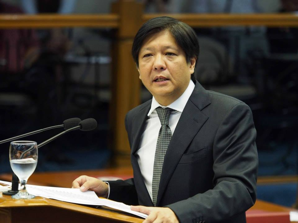 (Photo from the official Facebook page of Bongbong Marcos)