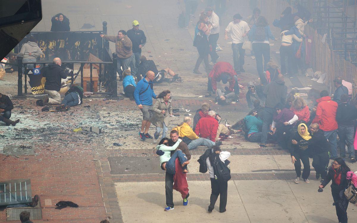 2013 Boston Marathon bombing  (Wikipedia photo)