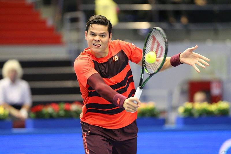 Milos Raonic (Photo taken from Milos Raonic's Facebook official fan page)