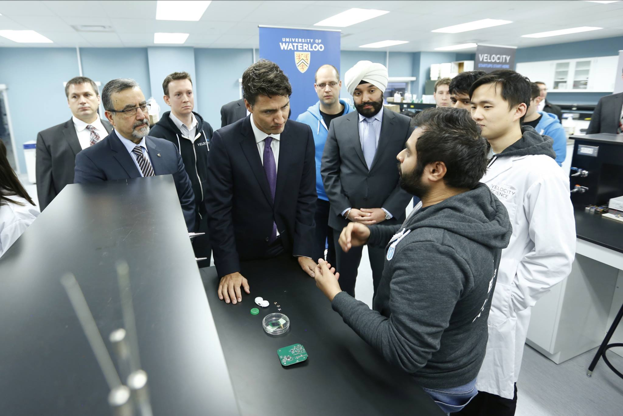 Prime Minister Justin Trudeau (Photo courtesy of PM Trudeau's official Facebook page)